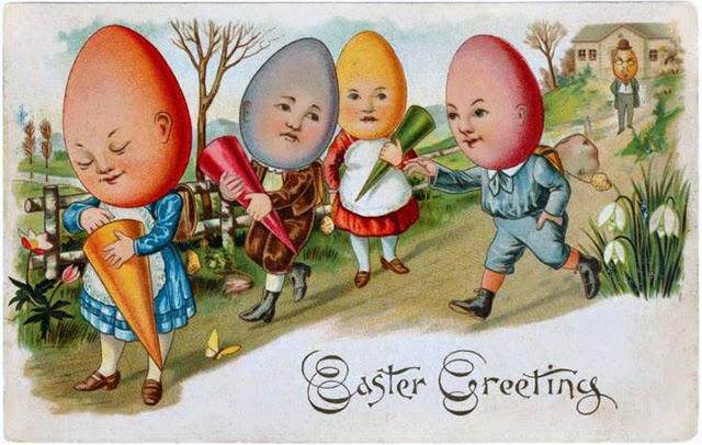 Vintage Easter card (3)